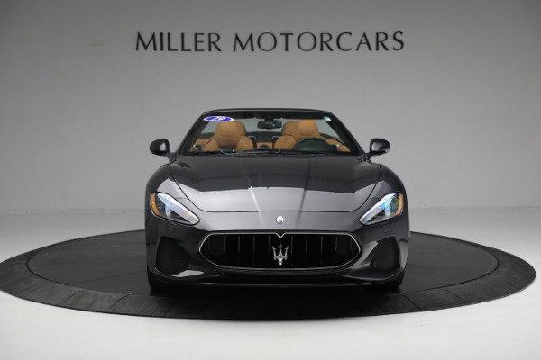 New 2019 Maserati GranTurismo Sport Convertible for sale $164,075 at Alfa Romeo of Greenwich in Greenwich CT 06830 18