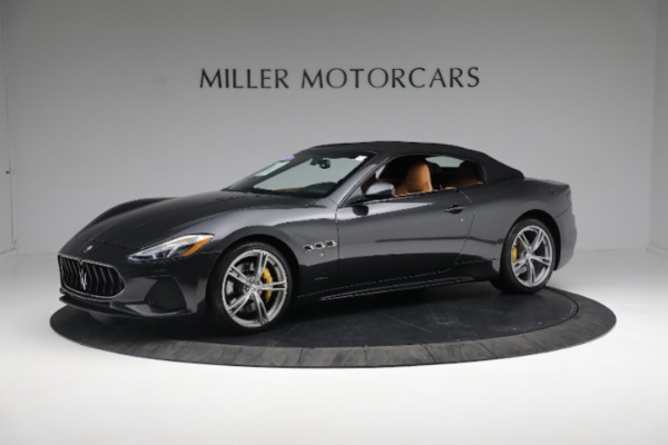 New 2019 Maserati GranTurismo Sport Convertible for sale $164,075 at Alfa Romeo of Greenwich in Greenwich CT 06830 2