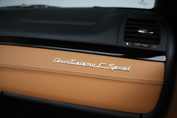 New 2019 Maserati GranTurismo Sport Convertible for sale $164,075 at Alfa Romeo of Greenwich in Greenwich CT 06830 26
