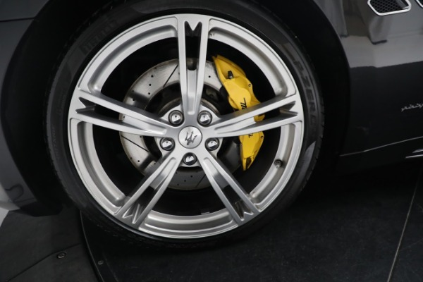 New 2019 Maserati GranTurismo Sport Convertible for sale $164,075 at Alfa Romeo of Greenwich in Greenwich CT 06830 27