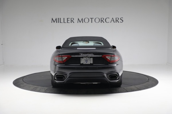 New 2019 Maserati GranTurismo Sport Convertible for sale $164,075 at Alfa Romeo of Greenwich in Greenwich CT 06830 5