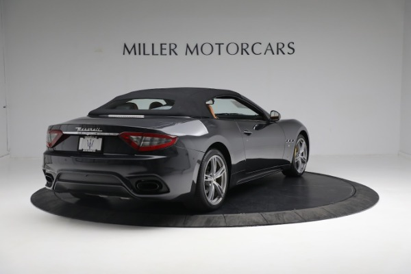New 2019 Maserati GranTurismo Sport Convertible for sale $164,075 at Alfa Romeo of Greenwich in Greenwich CT 06830 6