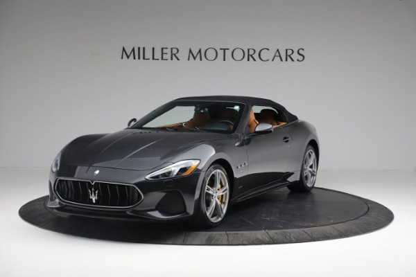 New 2019 Maserati GranTurismo Sport Convertible for sale $164,075 at Alfa Romeo of Greenwich in Greenwich CT 06830 1