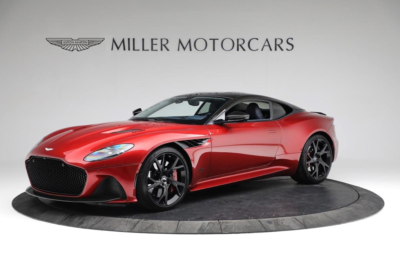 Used 2019 Aston Martin DBS Superleggera for sale $259,900 at Alfa Romeo of Greenwich in Greenwich CT 06830 1