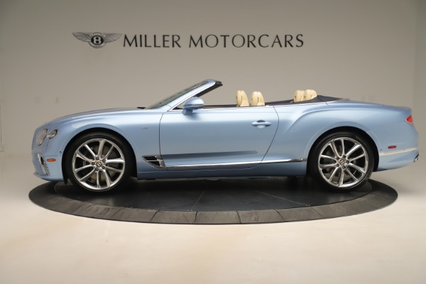 Used 2020 Bentley Continental GTC V8 for sale $288,020 at Alfa Romeo of Greenwich in Greenwich CT 06830 3