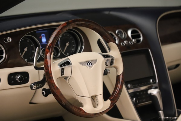 Used 2016 Bentley Continental GTC W12 for sale Sold at Alfa Romeo of Greenwich in Greenwich CT 06830 27