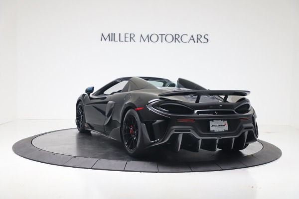 New 2020 McLaren 600LT SPIDER Convertible for sale $289,020 at Alfa Romeo of Greenwich in Greenwich CT 06830 10