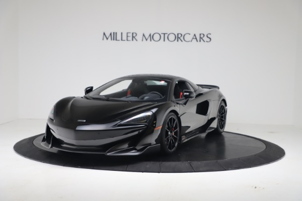 New 2020 McLaren 600LT SPIDER Convertible for sale $289,020 at Alfa Romeo of Greenwich in Greenwich CT 06830 11