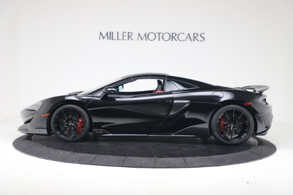 New 2020 McLaren 600LT SPIDER Convertible for sale $289,020 at Alfa Romeo of Greenwich in Greenwich CT 06830 12