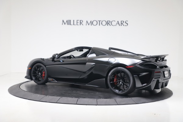 New 2020 McLaren 600LT SPIDER Convertible for sale $289,020 at Alfa Romeo of Greenwich in Greenwich CT 06830 13