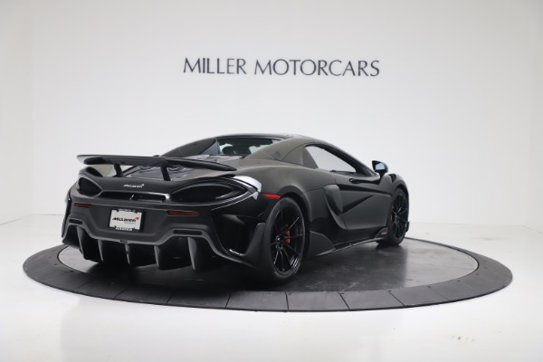 New 2020 McLaren 600LT SPIDER Convertible for sale $289,020 at Alfa Romeo of Greenwich in Greenwich CT 06830 14