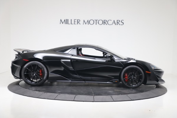 New 2020 McLaren 600LT SPIDER Convertible for sale Sold at Alfa Romeo of Greenwich in Greenwich CT 06830 15