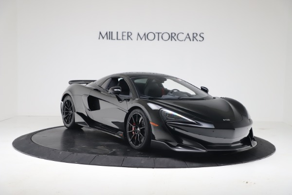 New 2020 McLaren 600LT SPIDER Convertible for sale $289,020 at Alfa Romeo of Greenwich in Greenwich CT 06830 16