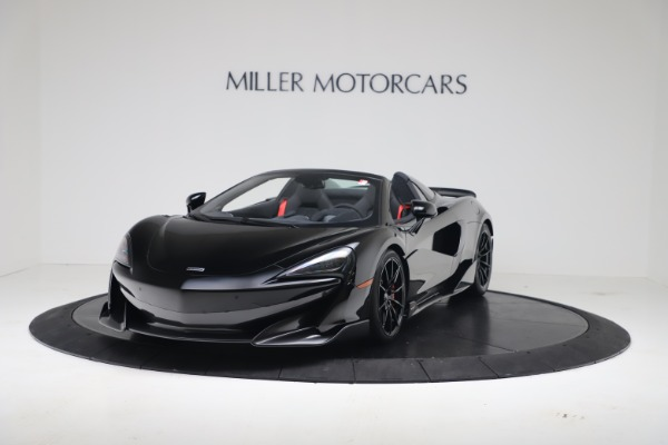 New 2020 McLaren 600LT SPIDER Convertible for sale $289,020 at Alfa Romeo of Greenwich in Greenwich CT 06830 2