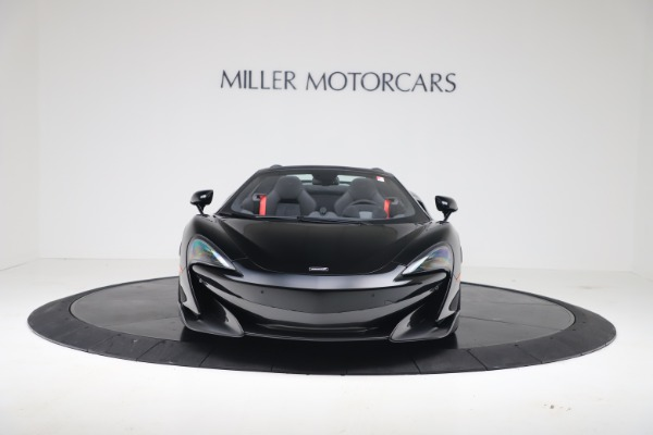 New 2020 McLaren 600LT SPIDER Convertible for sale $289,020 at Alfa Romeo of Greenwich in Greenwich CT 06830 3