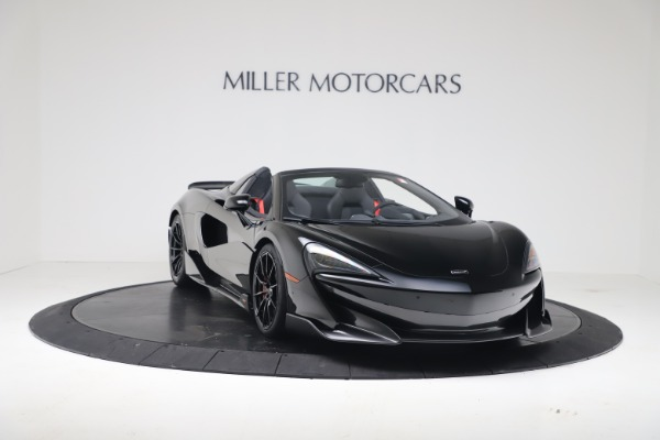 New 2020 McLaren 600LT SPIDER Convertible for sale $289,020 at Alfa Romeo of Greenwich in Greenwich CT 06830 4