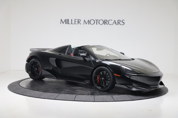 New 2020 McLaren 600LT SPIDER Convertible for sale $289,020 at Alfa Romeo of Greenwich in Greenwich CT 06830 5