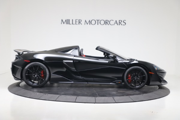 New 2020 McLaren 600LT SPIDER Convertible for sale $289,020 at Alfa Romeo of Greenwich in Greenwich CT 06830 6