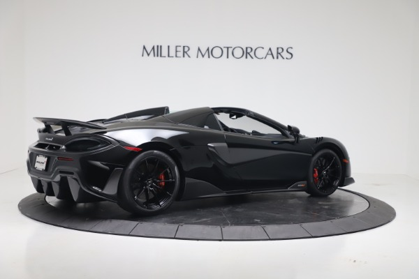 New 2020 McLaren 600LT SPIDER Convertible for sale $289,020 at Alfa Romeo of Greenwich in Greenwich CT 06830 7
