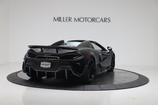 New 2020 McLaren 600LT SPIDER Convertible for sale $289,020 at Alfa Romeo of Greenwich in Greenwich CT 06830 8