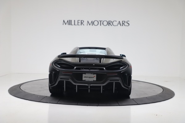 New 2020 McLaren 600LT SPIDER Convertible for sale Sold at Alfa Romeo of Greenwich in Greenwich CT 06830 9