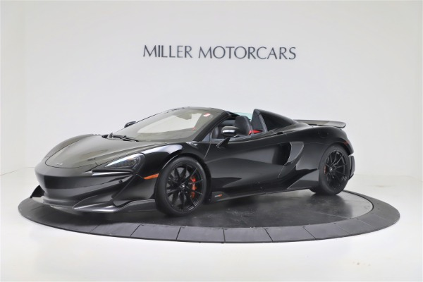 New 2020 McLaren 600LT SPIDER Convertible for sale $289,020 at Alfa Romeo of Greenwich in Greenwich CT 06830 1