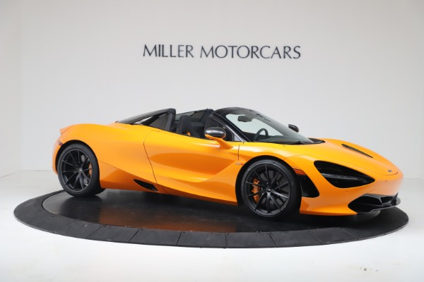 New 2020 McLaren 720S Spider Convertible for sale $374,440 at Alfa Romeo of Greenwich in Greenwich CT 06830 10