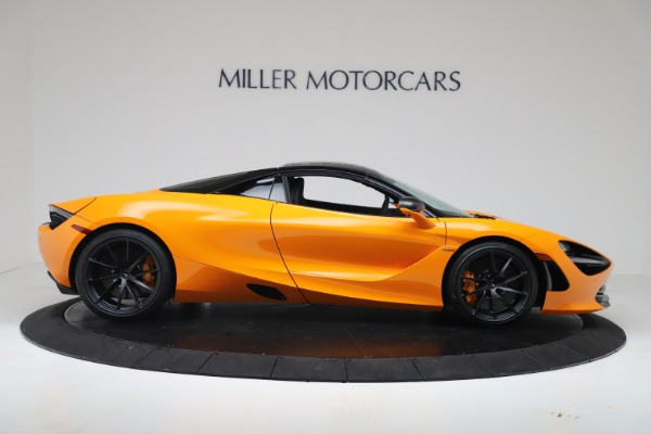 New 2020 McLaren 720S Spider Convertible for sale $374,440 at Alfa Romeo of Greenwich in Greenwich CT 06830 18