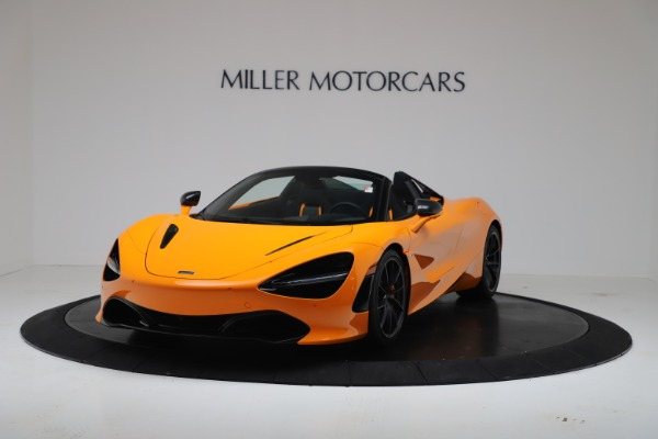 New 2020 McLaren 720S Spider Convertible for sale $374,440 at Alfa Romeo of Greenwich in Greenwich CT 06830 2