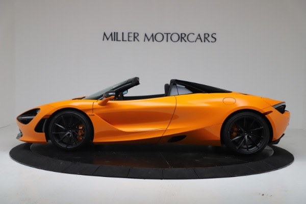 New 2020 McLaren 720S Spider Performance for sale $374,440 at Alfa Romeo of Greenwich in Greenwich CT 06830 3