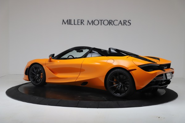 New 2020 McLaren 720S Spider Performance for sale $374,440 at Alfa Romeo of Greenwich in Greenwich CT 06830 4