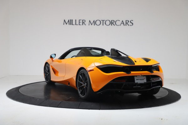 New 2020 McLaren 720S Spider Convertible for sale $374,440 at Alfa Romeo of Greenwich in Greenwich CT 06830 5