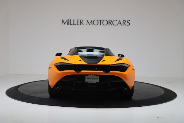 New 2020 McLaren 720S Spider Convertible for sale $374,440 at Alfa Romeo of Greenwich in Greenwich CT 06830 6
