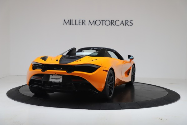 New 2020 McLaren 720S Spider Convertible for sale $374,440 at Alfa Romeo of Greenwich in Greenwich CT 06830 7