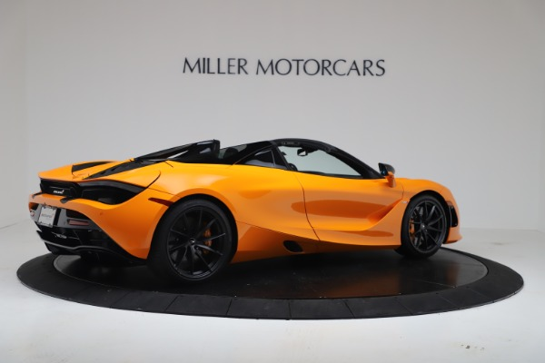New 2020 McLaren 720S Spider Convertible for sale $374,440 at Alfa Romeo of Greenwich in Greenwich CT 06830 8