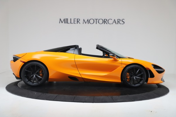 New 2020 McLaren 720S Spider Convertible for sale $374,440 at Alfa Romeo of Greenwich in Greenwich CT 06830 9