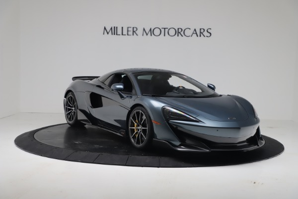 New 2020 McLaren 600LT SPIDER Convertible for sale Sold at Alfa Romeo of Greenwich in Greenwich CT 06830 18