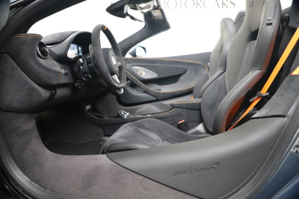 New 2020 McLaren 600LT SPIDER Convertible for sale Sold at Alfa Romeo of Greenwich in Greenwich CT 06830 24