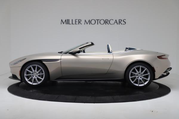 New 2020 Aston Martin DB11 Volante Convertible for sale $255,556 at Alfa Romeo of Greenwich in Greenwich CT 06830 24