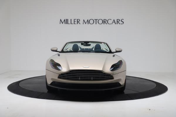New 2020 Aston Martin DB11 Volante Convertible for sale $255,556 at Alfa Romeo of Greenwich in Greenwich CT 06830 5