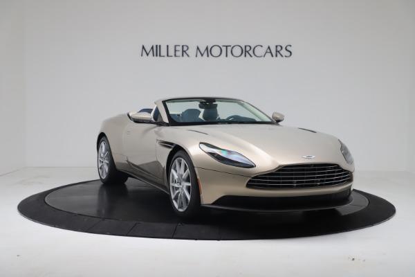 New 2020 Aston Martin DB11 Volante Convertible for sale $255,556 at Alfa Romeo of Greenwich in Greenwich CT 06830 8