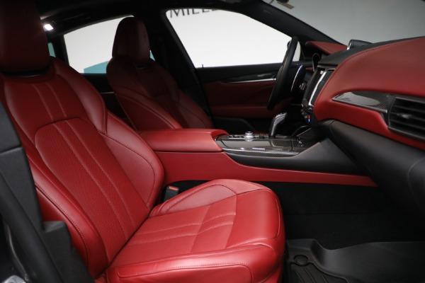 Used 2019 Maserati Levante Q4 GranSport for sale $69,900 at Alfa Romeo of Greenwich in Greenwich CT 06830 22