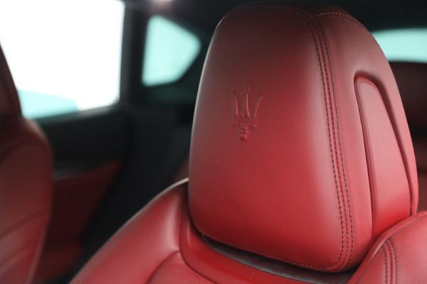 Used 2019 Maserati Levante Q4 GranSport for sale $69,900 at Alfa Romeo of Greenwich in Greenwich CT 06830 28