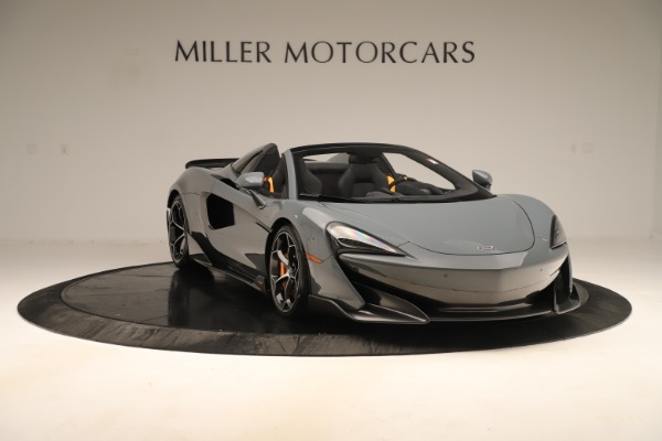 Used 2020 McLaren 600LT Spider for sale Sold at Alfa Romeo of Greenwich in Greenwich CT 06830 10
