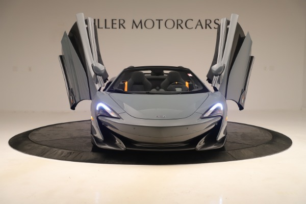 Used 2020 McLaren 600LT Spider for sale Sold at Alfa Romeo of Greenwich in Greenwich CT 06830 12