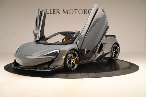 Used 2020 McLaren 600LT Spider for sale Sold at Alfa Romeo of Greenwich in Greenwich CT 06830 13