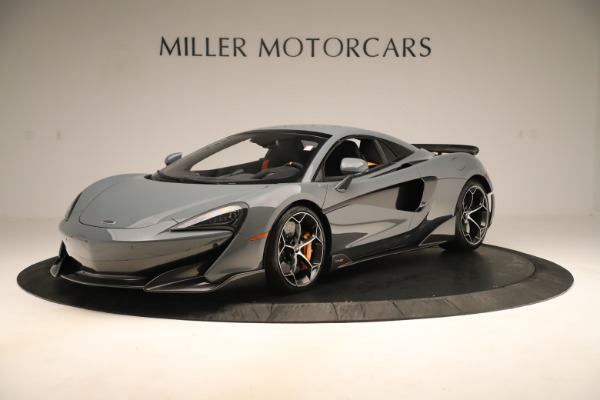 Used 2020 McLaren 600LT Spider for sale Sold at Alfa Romeo of Greenwich in Greenwich CT 06830 14
