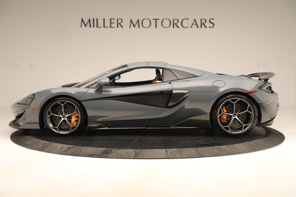 Used 2020 McLaren 600LT Spider for sale Sold at Alfa Romeo of Greenwich in Greenwich CT 06830 15