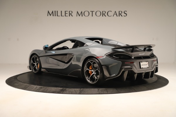 Used 2020 McLaren 600LT Spider for sale Sold at Alfa Romeo of Greenwich in Greenwich CT 06830 16