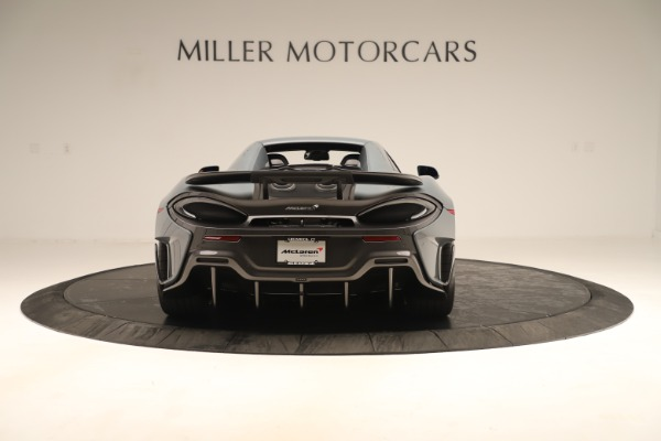 Used 2020 McLaren 600LT Spider for sale Sold at Alfa Romeo of Greenwich in Greenwich CT 06830 17